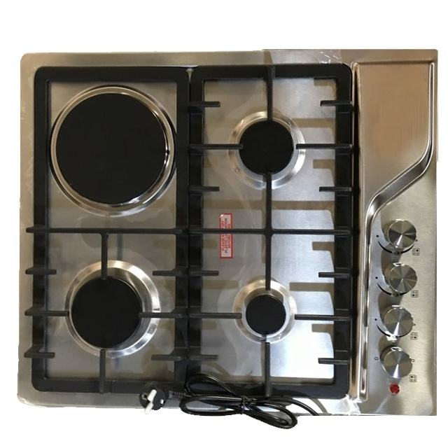 Natural Gas New Model Gas Hob Stainless