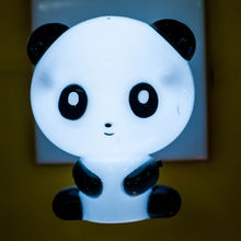 Cute Panda Cartoon animal kids night light Bed Desk Table Lamp Sleeping Gift  GL-W008 plug in lighting