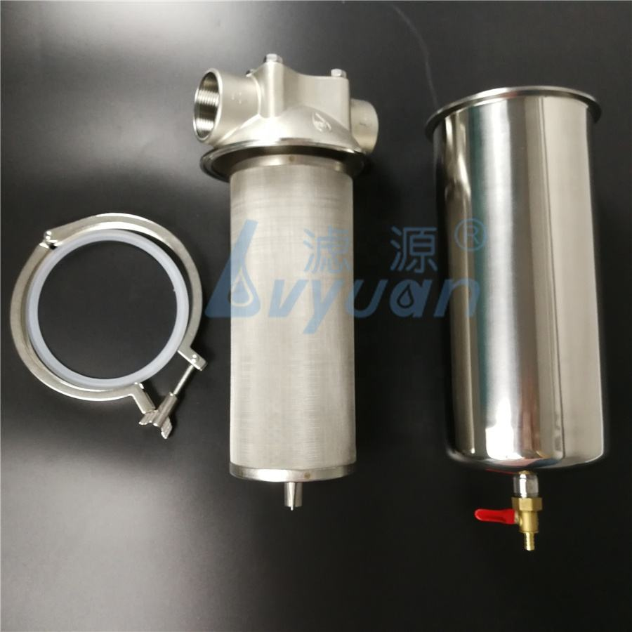 10 20 inch Jumbo BB Cartridge Rvs Water Filter Behuizing