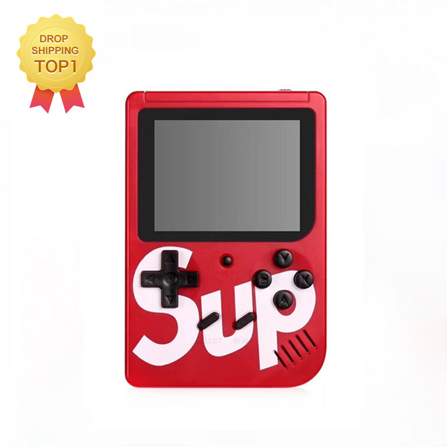 Best Seller SUP Game Box Super Mario Mini Retro Game Juego Retro 400 Support TV Out Handheld Portable Console Sup 400 in 1