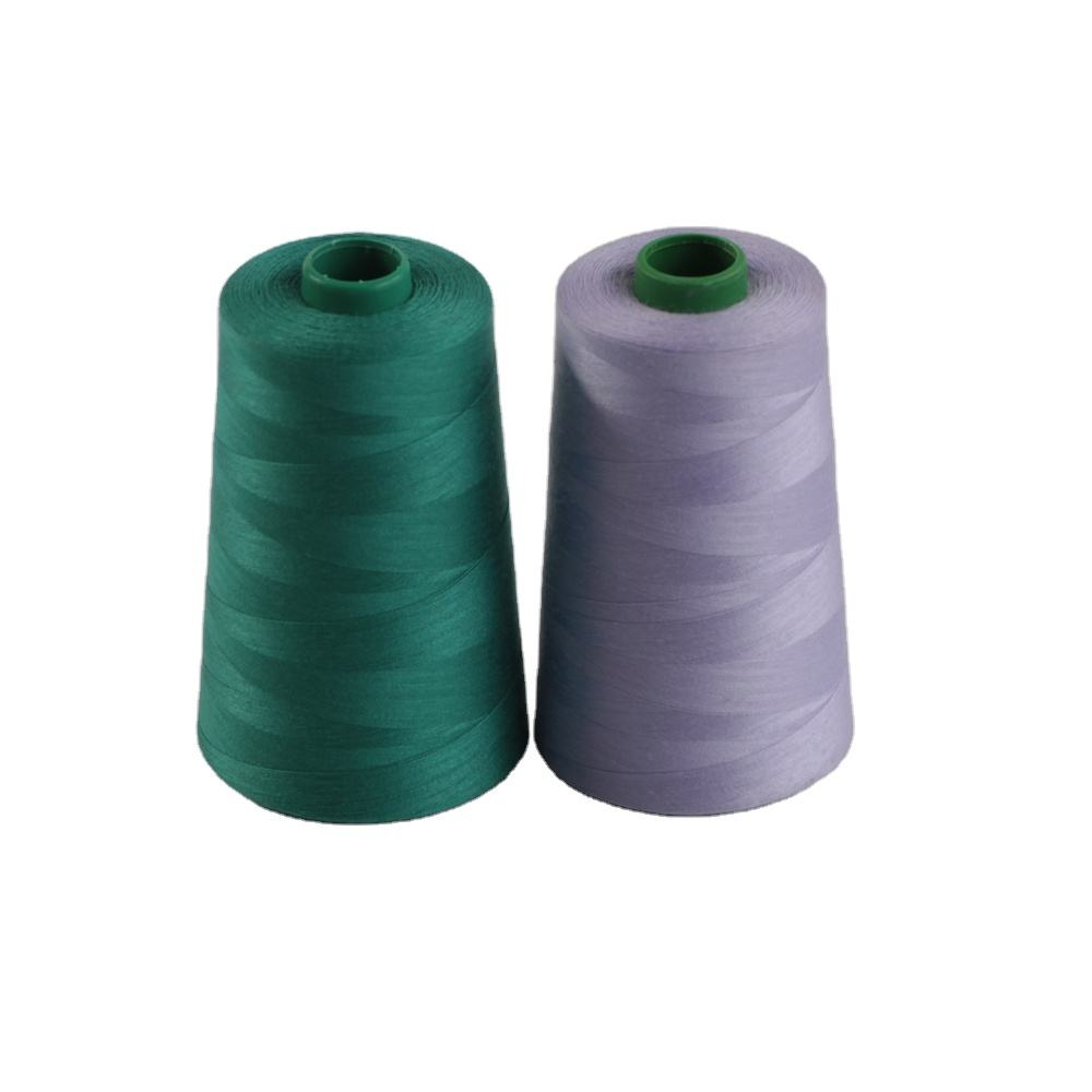 100 Percent Polyester Yarn Dyed 60/2 Sewing Thread For Sewing And Knitting