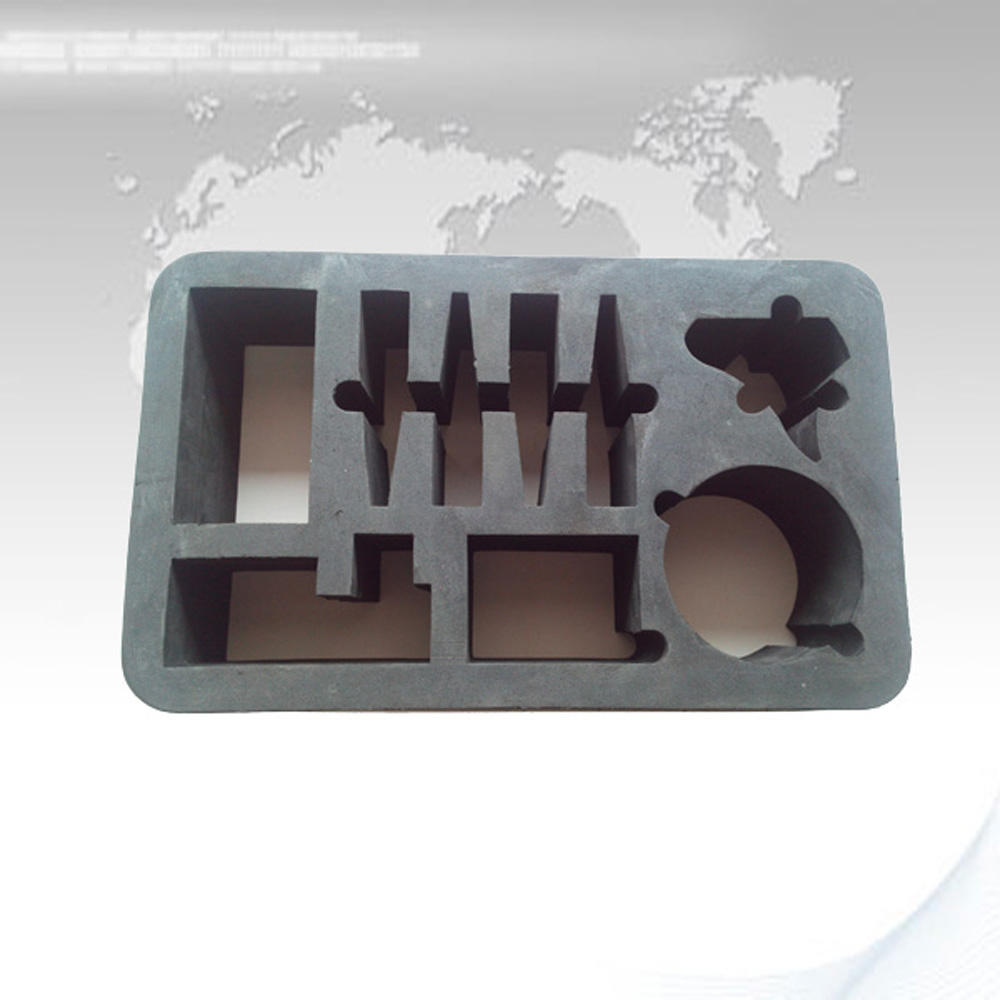 protective shake-proof custom flocking eva cutting foam insert tray customized shape die cut foam