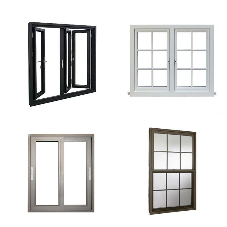 Australia Standard Hurricane Proof Double Glaze Temper Glass Aluminum Window
