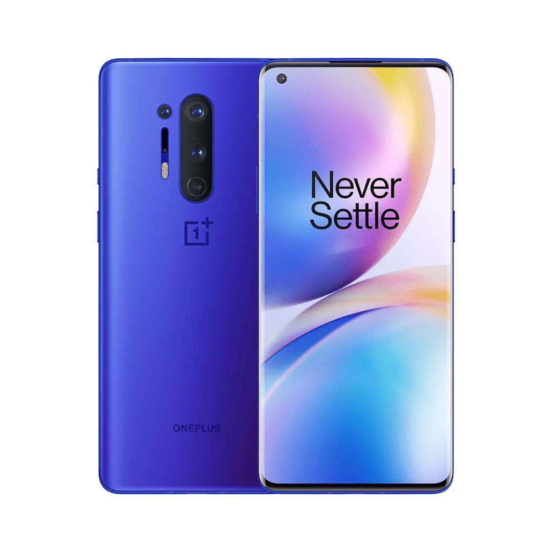 New起動Oneplus 8 Pro 5G Smartphone Snapdragon 865 8G 128G 6.87 '120Hz Fluid Display 48MP Quad 513PPI 30W Wireless Charging