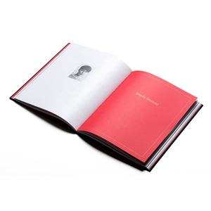 High-end full-color hardcover book/photo book/catalog/cookbook custom printing