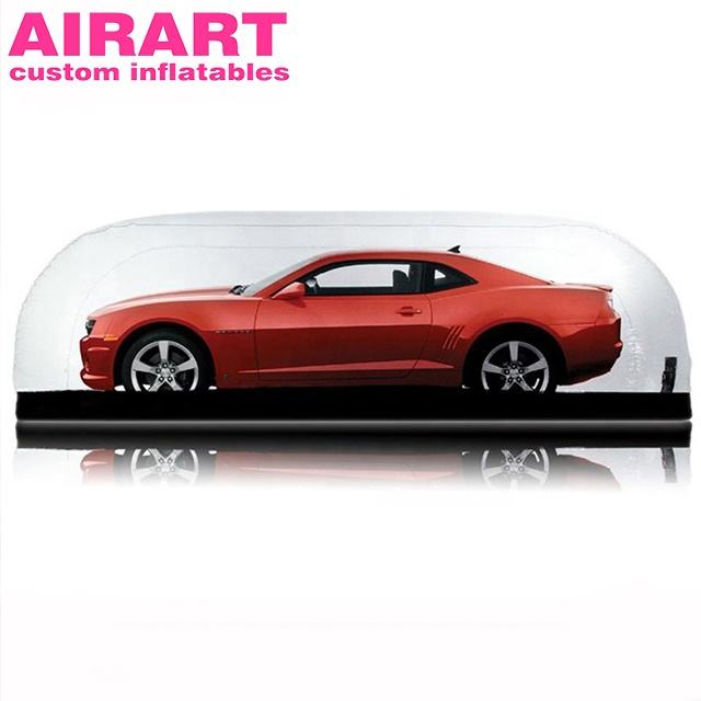 Inflatable car capsule garage cover vehicle sedan show tent,advertising inflatable