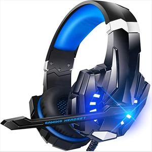 2020 best selling products in amazon LED light high quality stereo Over-ear headphones Headphones gamer With Mic for PC