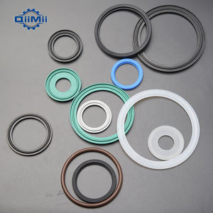 Food Grade Tri Clamp Fittings Seal Ferrule Silicone Rubber Gasket