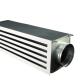 Air conditioning ventilation linear slot diffuser for hvac system