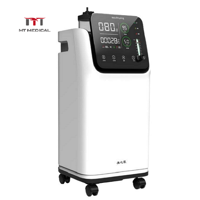 Hot selling 3/5/7/10 liters medical 96% hospital oxygen concentrator machine portable for sale