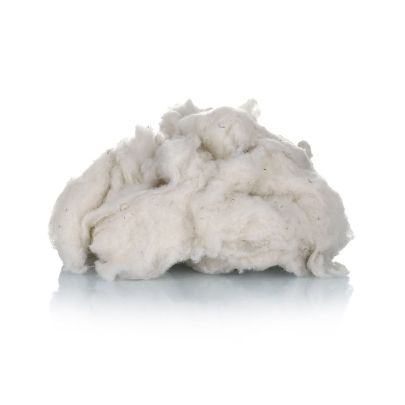 Wholesale factory price natural white color less VM 100% australian wool noils for spinning yarns