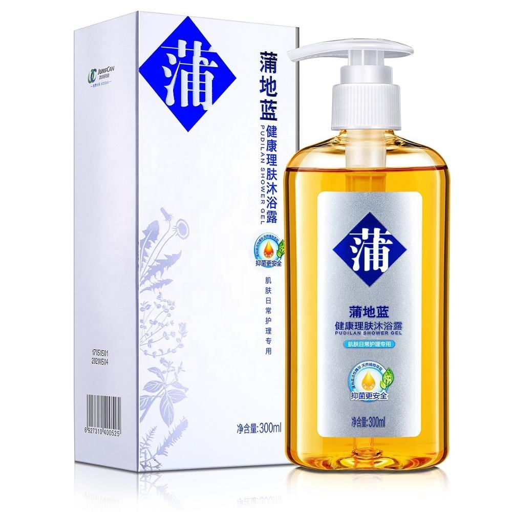 Pu Dilan Healthy Skin Body Shower Gel 300ml moisturizing and relieving itching skin