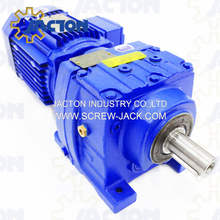 R47 RF47 Inline Helical Speed Reducer Gearboxes and Gearmotors 0.18kw 0.25kw 0.37kw 0.55kw 0.75kw 1.1kw 1.5kw 2.2kw 3kw 4kw