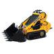 23hp mini digger bush ranger fits Dingo Kanga rubber tracked petrol 4 in 1 bucket mini skid steer loader