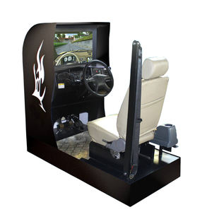 Zhongcai Equipment car driving training simulator school