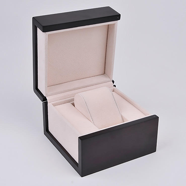 2019 Latest Style Display Case Wrist Luxurious Delicate Watch Gift Box, Wooden Watch Box for Mens