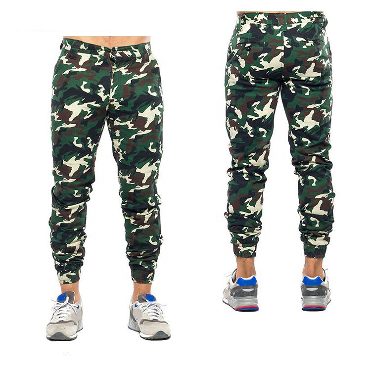 Moda adam 100% pamuk custom made jogger pantolon
