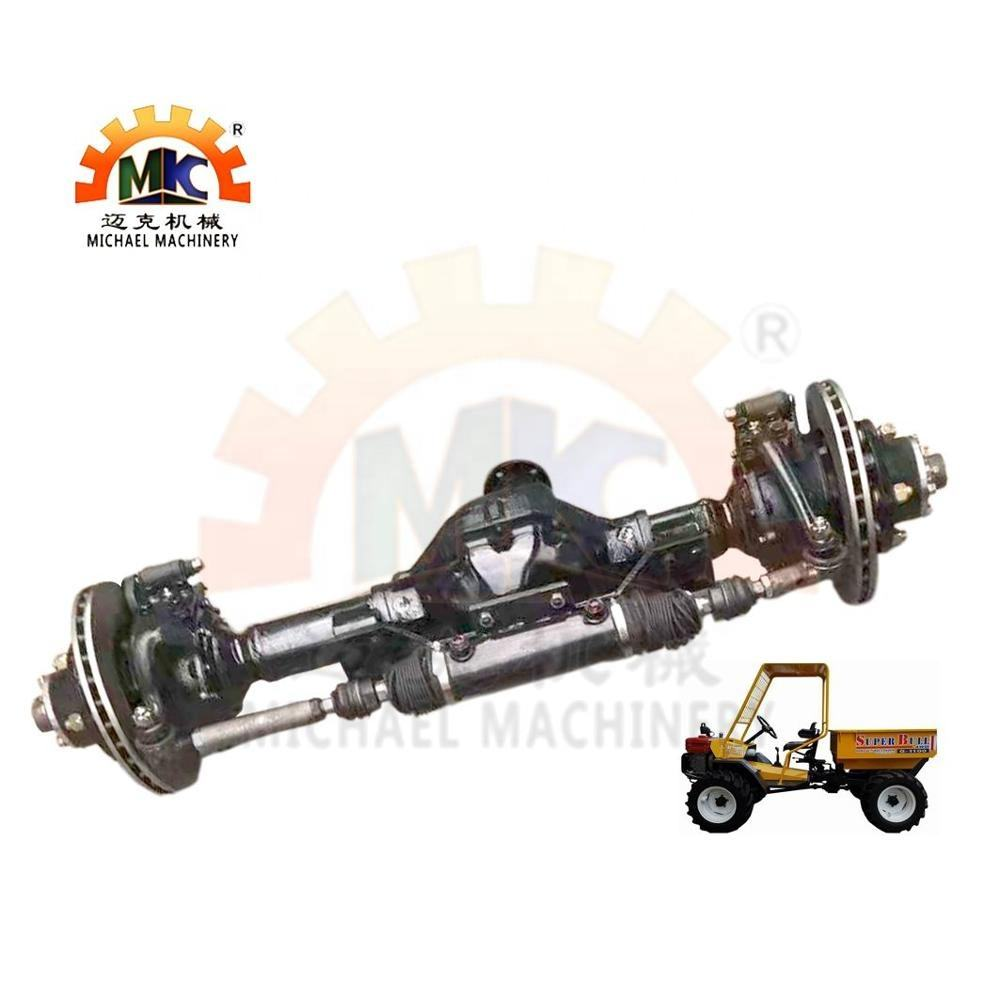 4WD/4WS Front Wheel Drive Steer Axle of Tractor with Double Acting Steering Hydraulic Cylinder