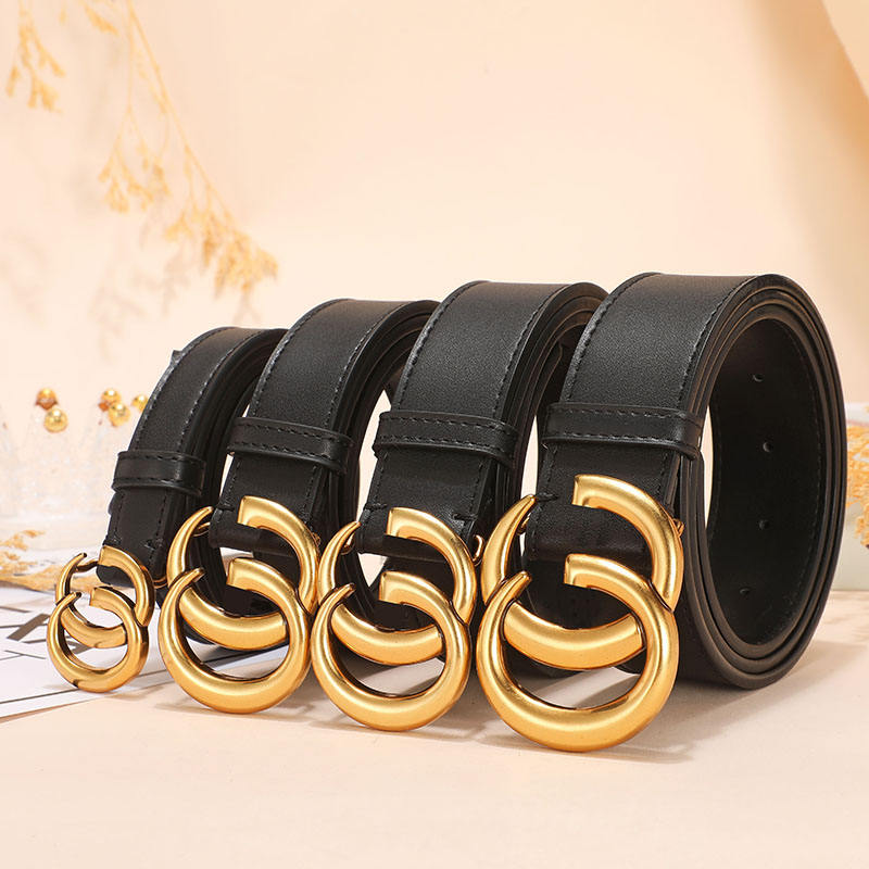 Fashion brand Famous Designer Men GG Genuine Leather Classic ladies girls Womens Belts