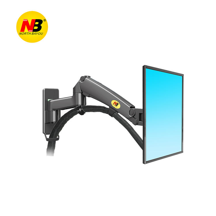 NB F300 24''-35'' 2 Arm LCD Screen Monitor Stand Bracket TV Wall Mount