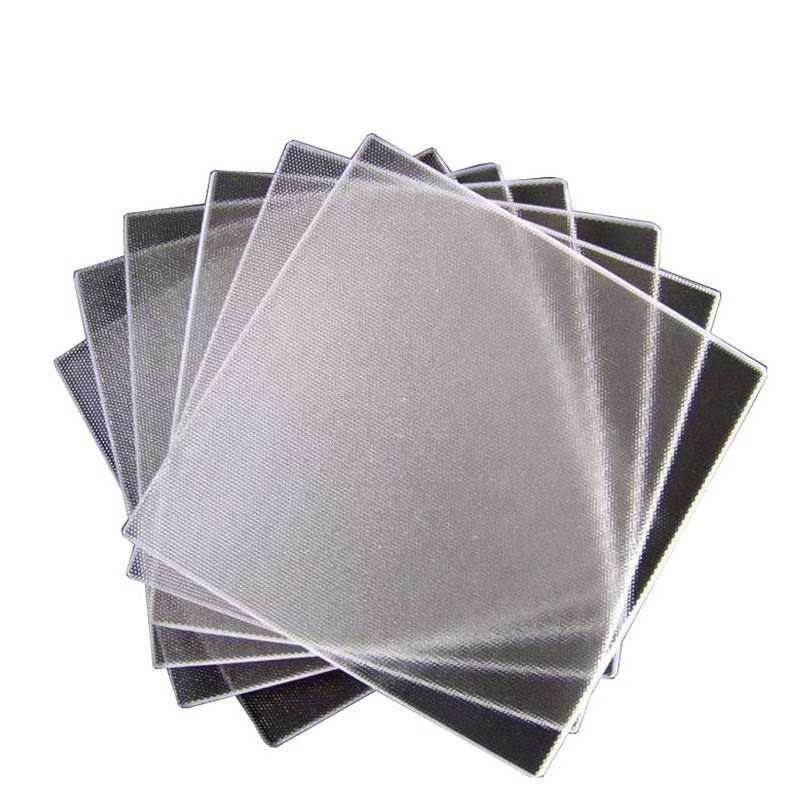 super white solar glass 3.2mm patterned tempered solar pv glass panel