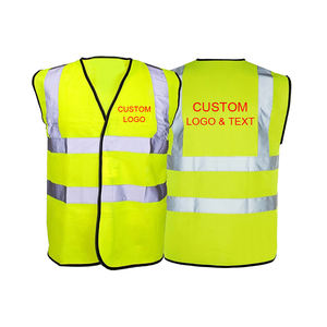 Custom Printing 100% polyester fabric Industrial Cheap Safety Product net Safety Running Vest Reflective Sport Wear Small to 5XL