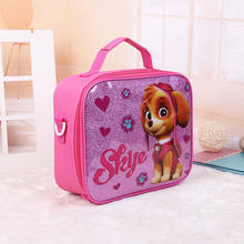 RTS Fashion Cute Unicorn Elsa Lunch Bag Student School Handbag Message Bags For Boys Girls Gift