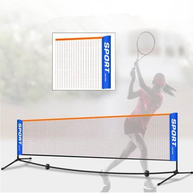 Street tennis net portable badminton net tennis net post