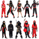 Anime Cosplay Kids Ninja Costume Carnival Party Role Play Halloween Japanese Ninja Costume For Boys