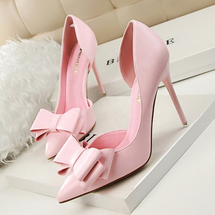 Hot sale designer famale high heels sandals sweet ladies dress shoes