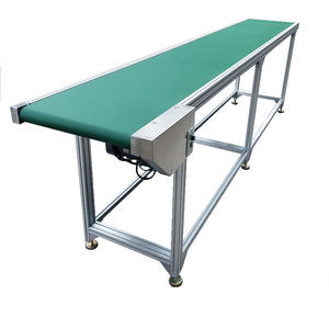 Customized belt conveyor systems for goods cinta transportadora and assembly