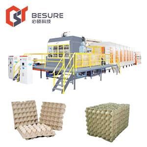 recycled paper carton box packing machine for egg tray/egg carton