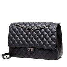 Wholesale channel women large shoulder hand bags lady luxury leather crossbody quilted designer womens purses and handbags