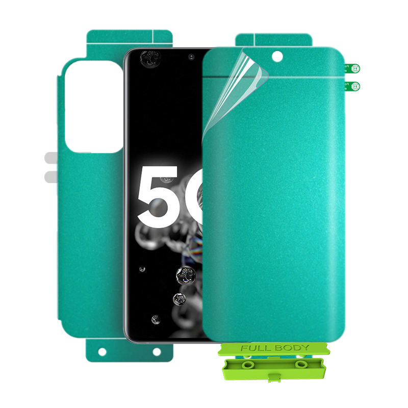 The Hydrogel 3D Full Cover TPU Screen Protector Anti Scratch For Mobile Phone Full Screen Film Material Roll For Samsung S20
