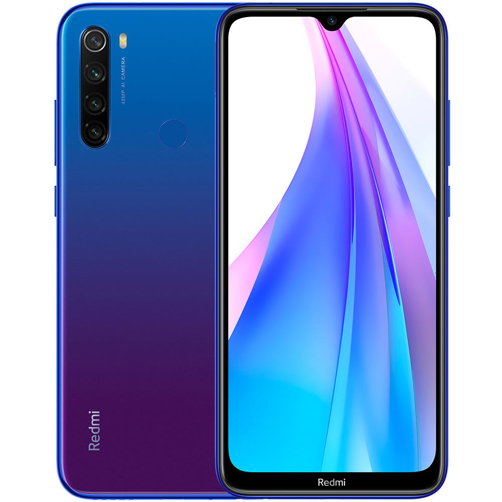 Global Version Xiaomi Redmi Note 8t 8 T 4GB 64GB Smartphone 48MP Quad Camera 4000mAh 18W QC NFC Mobile Phone