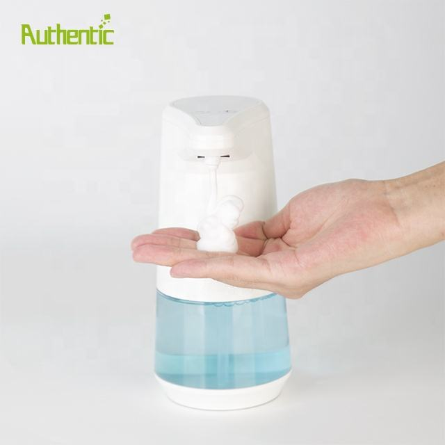 5 Adjustable Dispensing Volume Waterproof Battery Operated Automatic Touchless Soap Dispenser