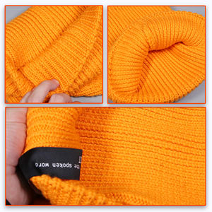 2020 New Gorros Fashion Casual Winter Solid Color Unisex Fisherman Toque Beanie Hat
