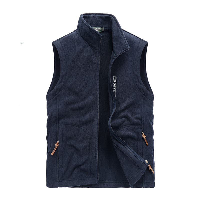 Nice Men's Autumn Winter Male Brand Clothing Fleece Softshell Vests Warm Waistcoat Mens Casual Sleeveless Outwear Jacket