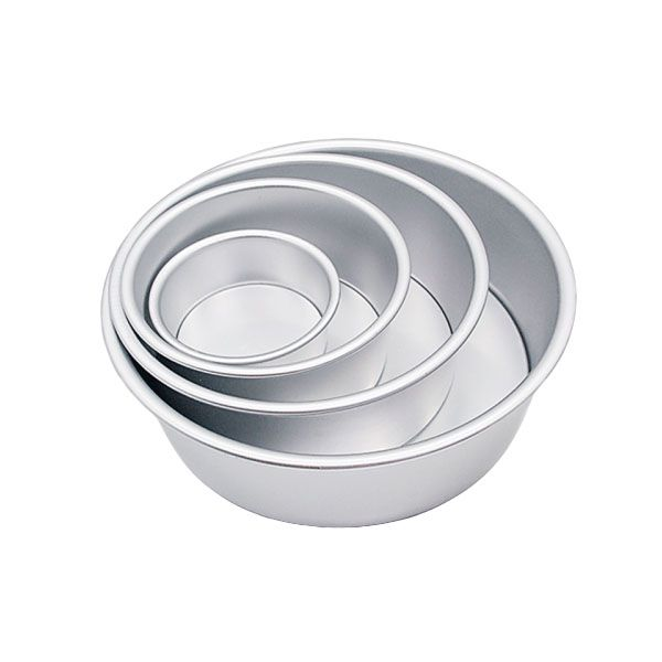 Yly 795799 10 Solid Cake Tin Beste Cake Tins Voor Bakken Tin Kan Broodjes Vierkante 6Inch