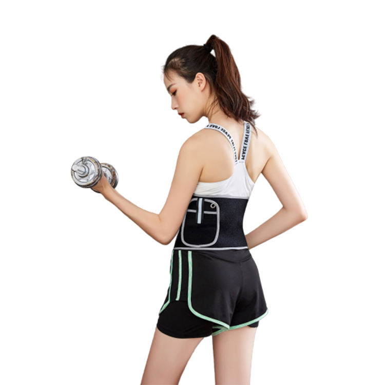 Wholesale quality nylon women sports waist training trimmer waist corset belt