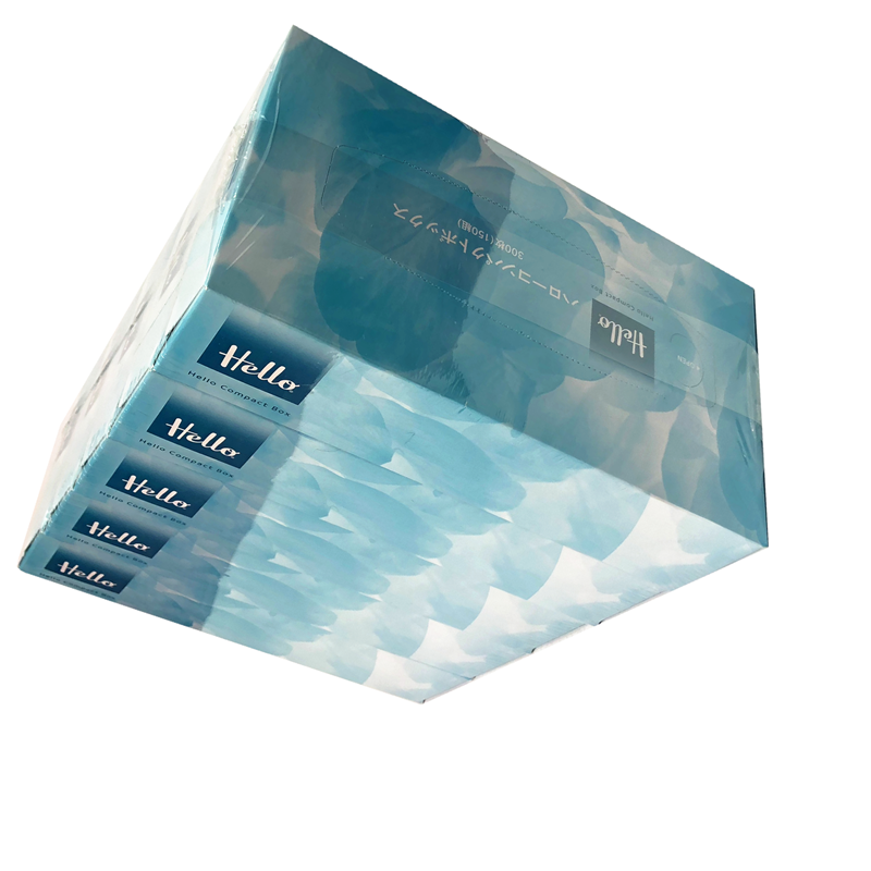 Cheap price soft dry cotton facial tissue paper for sensitive skin