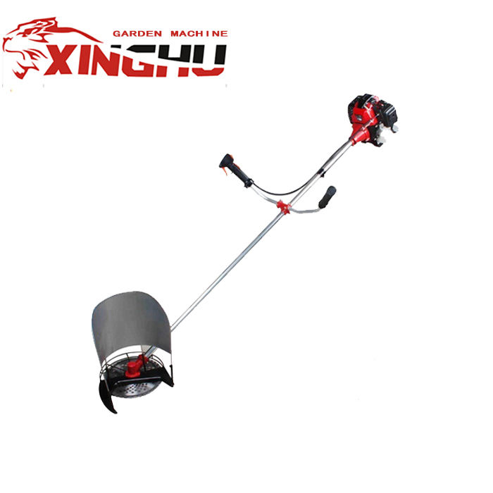 side attached 43cc petrol grass trimmer ,brush cutter