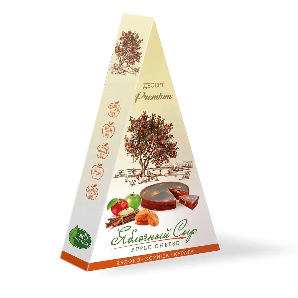 100% natural product 120 g fruit confectionery with dried apricots and cinnamon without sugar dessert