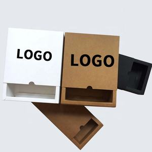 Custom Logo Recycled Brown Kraft Paper Packaging Box For Gift