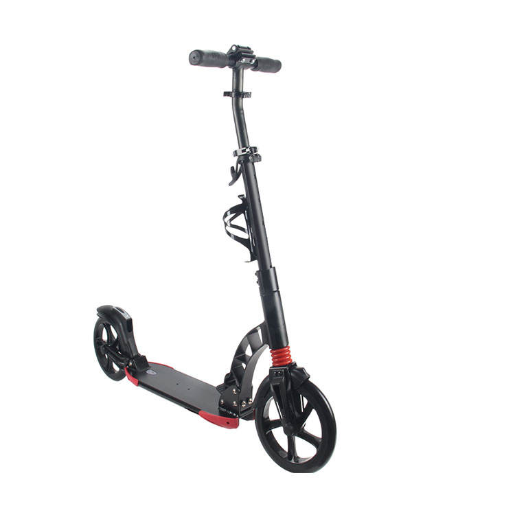 NEW FOLDING ADULTS KICK SCOOTER ALUMINUM 230MM LARGE WHEEL