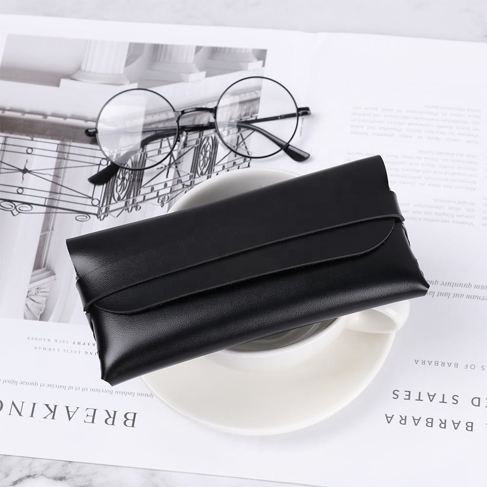 PU Leather Glasses Case Cover Sunglasses Glasses Holder Box