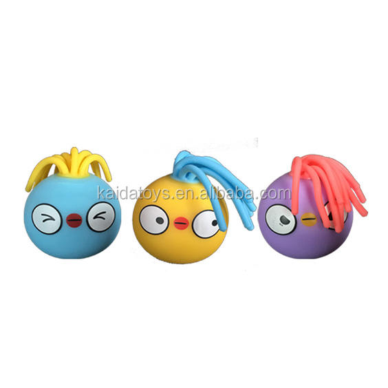 Hot-sale TPR Toy Balls Chick Stress Ball