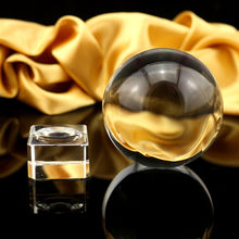 transparent good k9 solid glass crystal ball for sale/Wholesale  crystal ball sphere/2D 3D Laser Clear Crystal Ball Paperweight