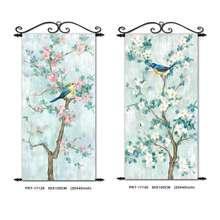 Flower and Bird Hanging Art Painting Wall Art Custom Canvas Print