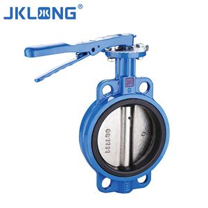 Ductile Iron 1 inch worm gear butterfly valve,pneumatic Water type butterfly valve China Supplier Wholesale